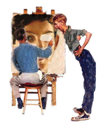 Our apologies to Norman Rockwell