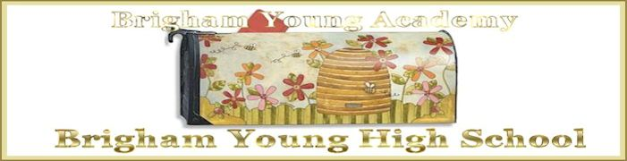 Brigham Young High Banner No. 35 - 180