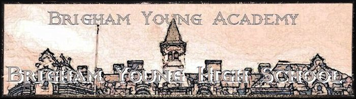 Brigham Young High Banner No. 30 - 195