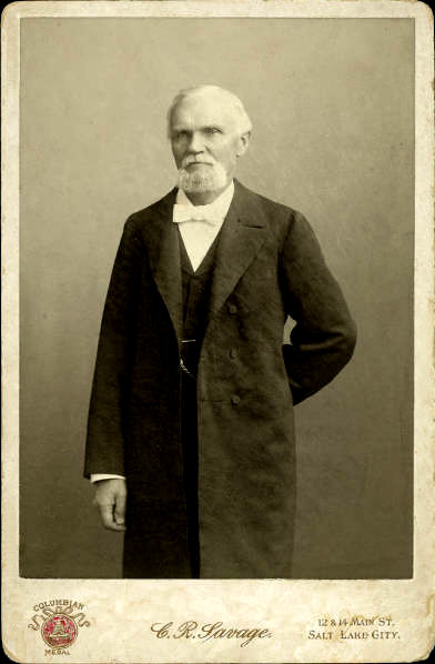 Photographic portrait of Karl G. Maeser