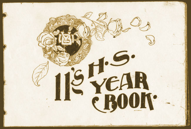 1911 BYH Yearbook, Utah State Historical Society